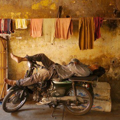 Resting, Phnom Penh, 2015