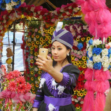 Selfie, Luang Prabang, 2015
