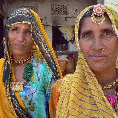 Sisters, Rajasthan, 2008